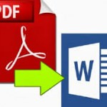 Editing files pdf office 2013