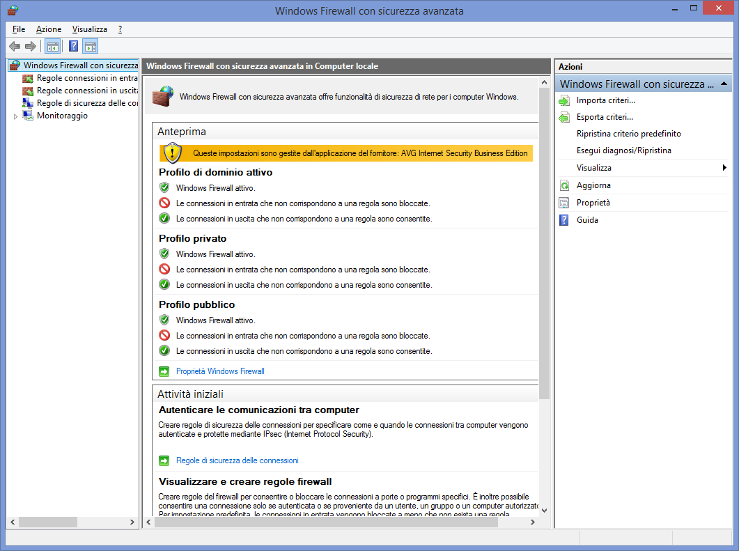 IL LOG DEL FIREWALL DI WINDOWS