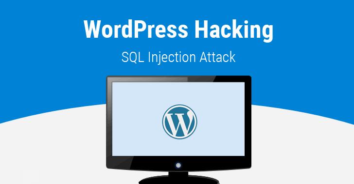 Wordpress-hacking-sql-injection