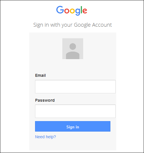 Screenshot-of-the-google-login-page
